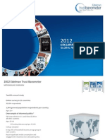 2012 Edelman Trust Barometer Global Results