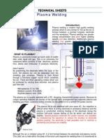 Plasma Welding - Processos