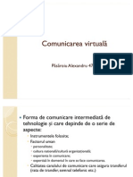 Comunicarea virtuala