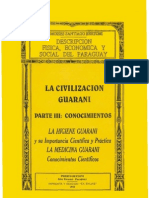 LA CIVILIZACION GUARANI - PARTE III CONOCIMIENTOS - DR. MOISES SANTIAGO BERTONI - PortalGuarani