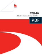 CQI-10 Effective Problem Solving Guideline