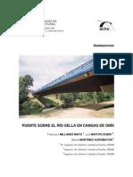 02- III Congreso ACHE 2005. Puente Sobre El Rio Sella en Cangas de Onis