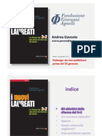 Nuovi laureati. Lo studio della Fondazione Giovanni Agnelli