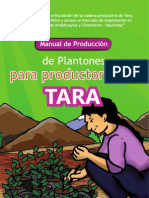 ASOCIACION BENEFICA PRISMA Tara Apurimac Manual de Produccion de Plantones
