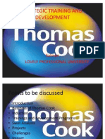 Thomas Cook Ppt