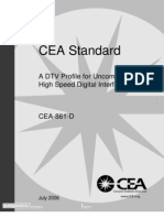 CEA Standard