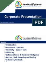 New World Software Corporate Presentation