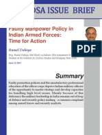 IB ManpowerPolicyinIndianArmedForces