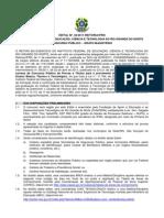 Edital 36 2011 Docente Vagas Gerais