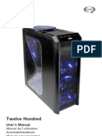 Antec 1200 Manual