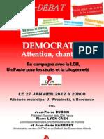 Tract Forum débat LDH Bordeaux 2012
