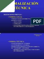 CLASE 5-2009 Normalización Técnica