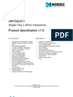 nRF24L01P Product Specification 1 0