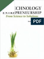 Ferguson Chapter 7 Biotechnology Entrepreneurship From Science to Solutions 2010