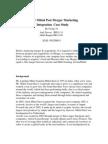 Arcelor Mittal Post Merger Marketing Integration
