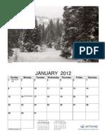 2012 Photo Calendar Seasons