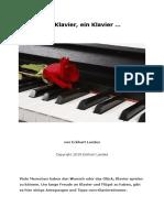 Das Klavier oder Piano