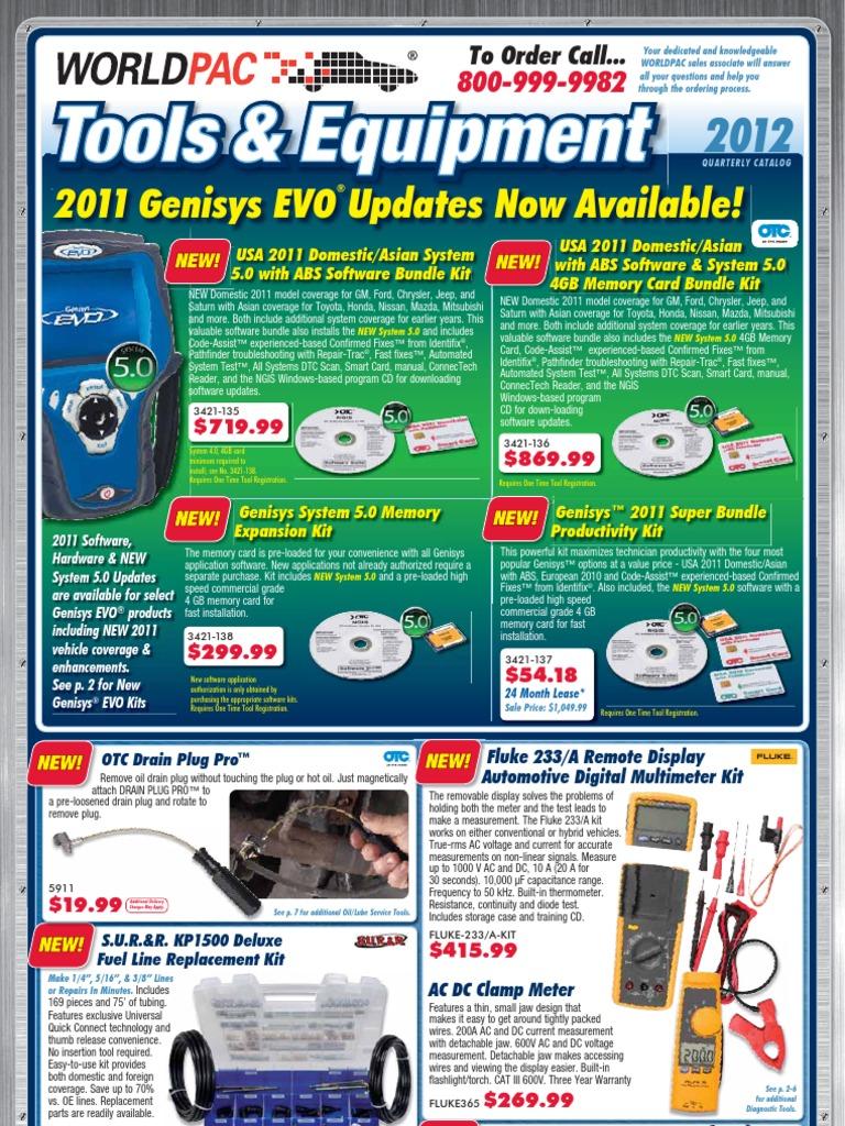 WORLDPAC Tools \u0026 Equipment Catalog (1st Quarter 2012) | Battery ...