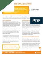 HighTower Partner Success Story