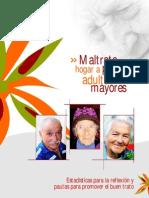 Maltrato en el hogar a las personas adultas mayores
