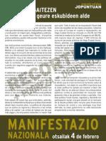 Manifiesto Mani Nacional Contra Los Recortes[1]