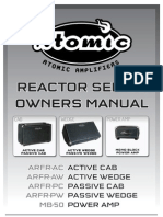 Reactor Series Manual