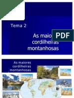 7O - Cordilheiras