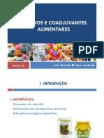 Aditivos e Coadjuvantes Aliment Ares [Modo de Compatibilidade