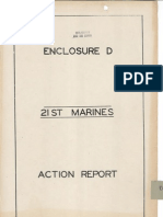 21st Marines Action Report - Iwo Jima