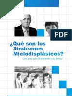 Guía para pacientes con Sindromes Mielodisplásicos