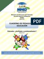 Cuaderno Pedagog Educa 1