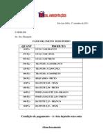 Pedido Mod Line Ferragens 17-09-11