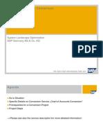 SLO Short Presentation Chart of Accounts Conversion