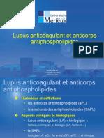 Diaporama Lupus Anticoagulant