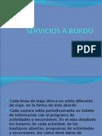 Servicios a Bordo