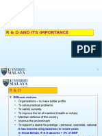 R and D and Its Importance