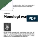 Enserl Eve - Monologi Waginy