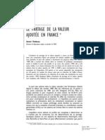 Le partage de la valeur ajoutée en France OFCE SCIENCES-PO 2-80