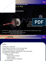 Hansjörg Dittus- Testing Gravity in the Solar System
