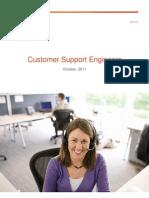 Customer Support Engineer Brochure