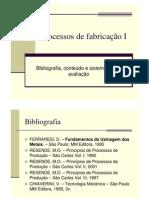 Processos de Fabricacao 1_materia Do Bimestre 1