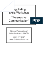 Negotiating Skills Workshop Presentation