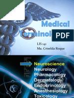 Medical Terminologies - Roque