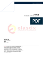 Manual Grabaciones de Audio Para El IVR