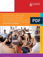 Graduate Diploma in Education and Postgraduate Education 2012 Handbook