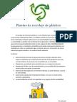 Plantas de Recilaje de Plastico