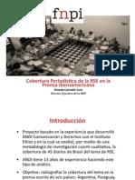 Cobertura periodística de la RSE en la prensa iberoamericana