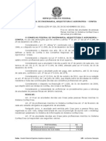 RESOLUÇAO Nº 528 - CREA