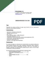 Ficha técnica y aplicación HIDROPRIMER,sept2009
