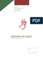 Emision de Gases